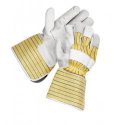 Mănuși de protecție din piele pentru lăcătuș, cu manșetă lungă, CROW LONG