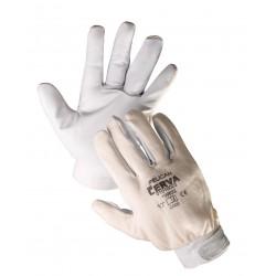 Mănuși de protecție combinate, cu palma din piele de capră, PELICAN