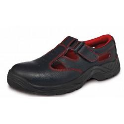 Sandale de protecție cu bombeu metalic S1 SRC, BONN