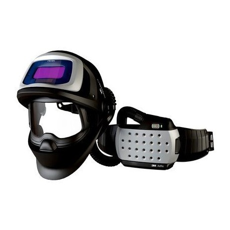 Mască de protecție la sudură 3M™ Speedglas™ 9100 FX Air cu filtru 9100V și sistem de presiune pozitivă 3M™Adflo™, 547705