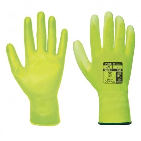 Mănuși de protecție cu palma acoperită cu poliuretan, A120