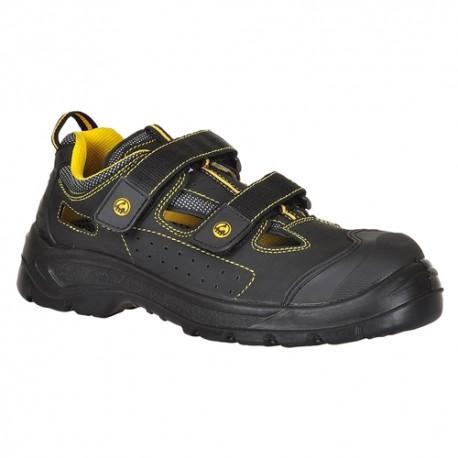 Sandale de protecție cu bombeu din material compozit, S1P ESD, COMPOSITELITE TAGUS - FC04
