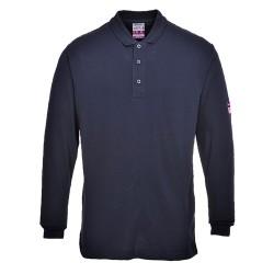 Tricou polo cu mânecă lungă, ignifug și antistatic, FR10