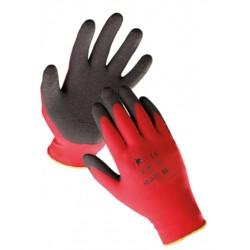 Mănuși de protecție imersate în latex negru , HORNBILL ECO