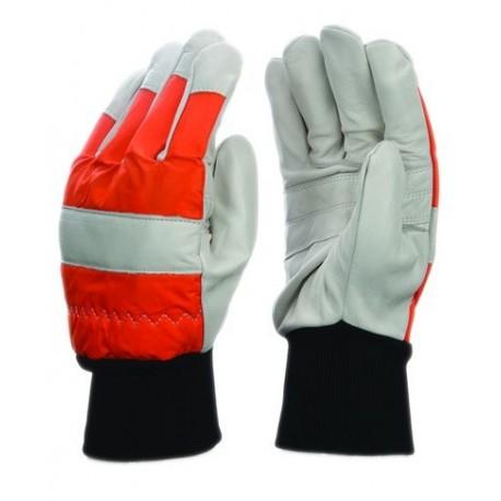 Mănuși de protecție pentru lucrul cu motofierăstrăul cu lanț,  ROCK-SAFE KM1509500