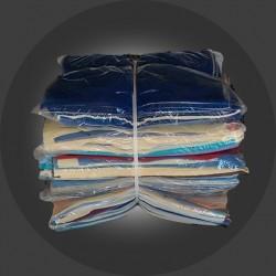 Lavete bumbac, material nou, 40x40 cm, set 100 bucăți