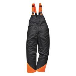 Pantaloni de protecție cu pieptar pentru lucrul cu motofierăstrăul cu lanț, OAK CH12
