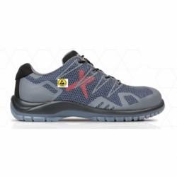 Pantofi de protecție cu bombeu din material compozit , S1P SRC ESD, EROS GREY