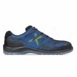 Pantofi de protecție cu bombeu din material compozit , S1P SRC, EROS BLUE