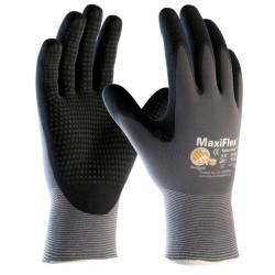 Mănuși de protecție din nailon/lycra acoperite parțial cu spumă nitrilică, cu puncte, MaxiFlex®ENDURANCE™  A3040