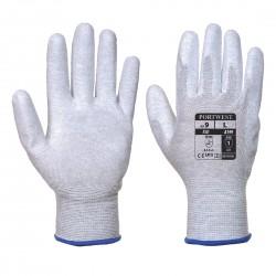 Mănuși de protecție ESD cu palma acoperită cu poliuretan, A199