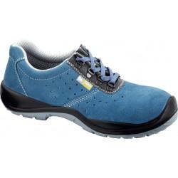 Pantofi de protecție cu bombeu din material compozit , S1 SRC, HORA