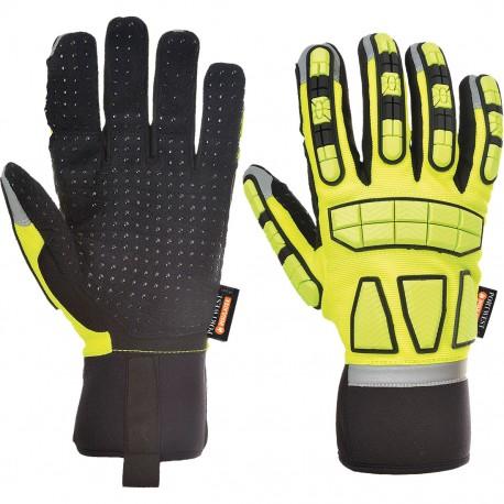 Mănuși căptușite pentru protecție la impact, SAFETY IMPACT A725