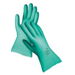Mănuși pentru protecție chimică, din nitril, 33 cm, GREBE
