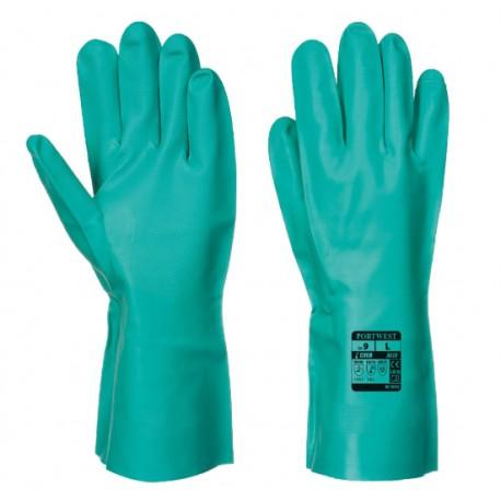 Mănuși de protecție chimică, NITROSAFE CHEMICAL A810