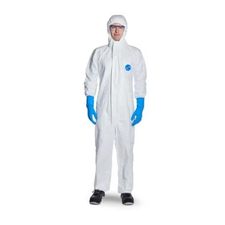 Combinezon de protecție împotriva agenților infecțioși, anti-static, tip 5 și 6, TYVEK 500 XPERT CHF5