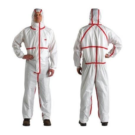 Combinezon de protecție împotriva agenților infecțioși, anti-chimic și anti-static, clasa 4, 5 și 6, 4565 3M