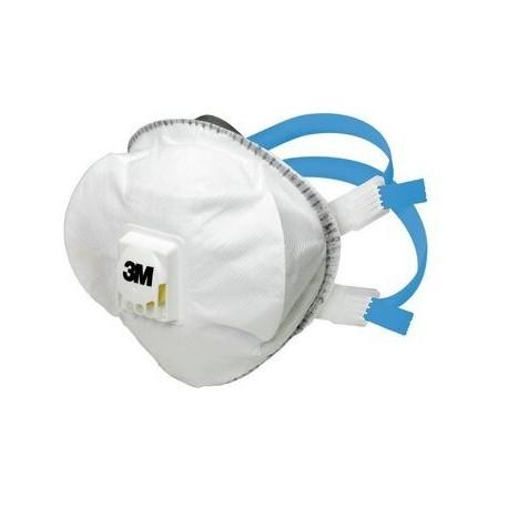 Mască de protecție tip cupă cu supapă, reuilizabilă, FFP2 3M™ 8825
