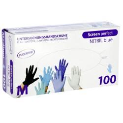 Mănuși de unică folosință, din nitril nepudrat, Top Glove 33221