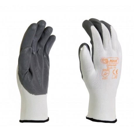 Manusi de protectie, cu palma imersata in spuma de nitril, pentru montaj, FN+NP