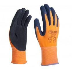 Manusi de protectie, cu palma imersata in spuma de latex, pentru montaj, LR3018F