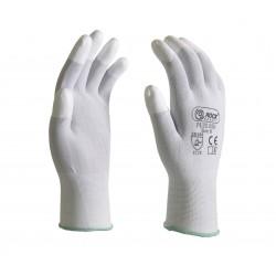 Manusi de protectie, imersate cu nylon la capatul degetelor, pentru montaj, PU20.05N
