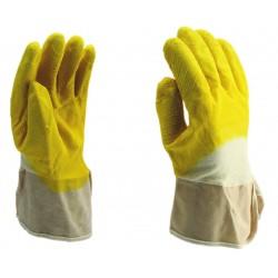 Manusi de protectie, imersate in latex, rezistente la taiere, 7021
