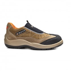 Pantofi de protectie cu bombeu din otel, din piele de caprioara. Arena, B0451