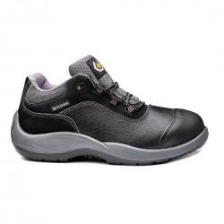 Pantofi de protectie cu bombeu din otel, din piele cu granulatie completa rezistenta la apa, Mozart, B0118