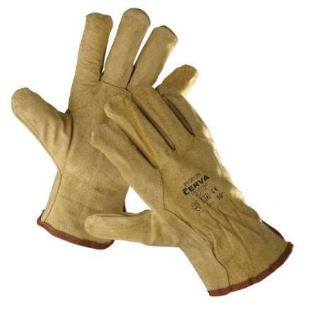 Mănuși de protecție din șpalț bovină pentru lăcătuș,PIGEON