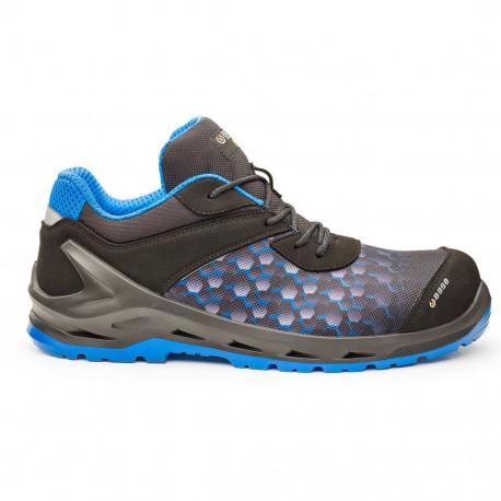 Pantofi de protectie S3 ESD cu bombeu SlimCap, i-Robox Blue, B1208