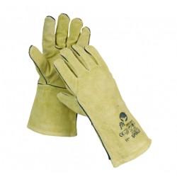 Mănuși  de protecție la sudură, căptușite, SPINUS
