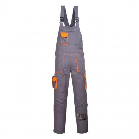 Pantaloni de lucru cu pieptar TEXO CONTRAST, TX12