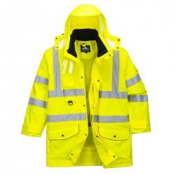 Jachetă impermeabilă TRAFFIC HI-VIS 7-în-1, S427
