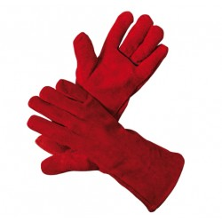 Mănuși de protecție la sudură, căptușite, SANDPIPER RED ECO