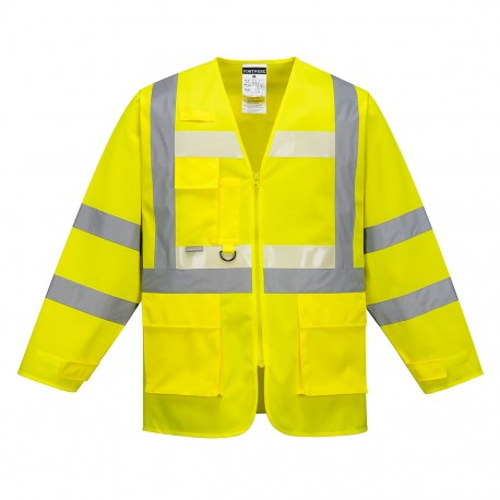 Jachetă GLOWTEX EXECUTIVE HI-VIS,  G475