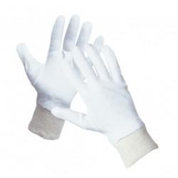 Mănuși de protecție din bumbac fin albit, CORMORAN
