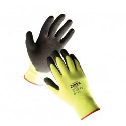 Mănuși de protecție din nylon imersate parțial în latex, PALAWAN