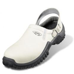 Pantofi de protecție cu bombeu din material compozit, UVEX XENOVA HYGIENE 6960.8 SB A E FO SRC ESD