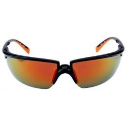 Ochelari de protecție cu lentile roșu-oglindă, anti-aburire și anti-zgâriere, 3M™ Solus™ 71505-00006M