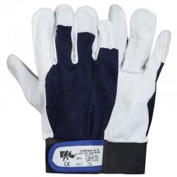 Mănuși de protecție cu palma din piele de capră, GENERAL EL