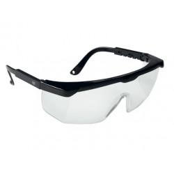 Ochelari de protecție cu lentile incolore și brațe reglabile, RHEIN