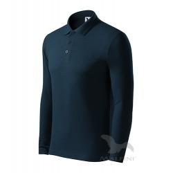 Tricou polo cu mânecă lungă, pentru bărbați, LS 221