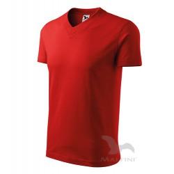 Tricou cu guler în formă de V, V-NECK 102