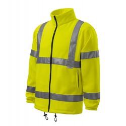 Jachetă fleece de protecție cu vizibilitate ridicată, HV FLEECE JACKET 5V1