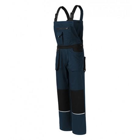 Pantaloni de lucru cu pieptar, 100% bumbac, WOODY W02
