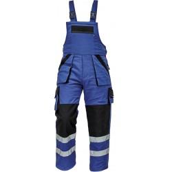 Pantaloni de lucru cu pieptar, căptușiți, MAX WINTER RFLX