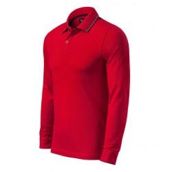 Tricou polo cu mânecă lungă, PREMIUM, CONTRAST STRIPE LS 258
