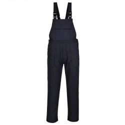 Pantaloni de lucru cu pieptar din material ignifug, BIZ4